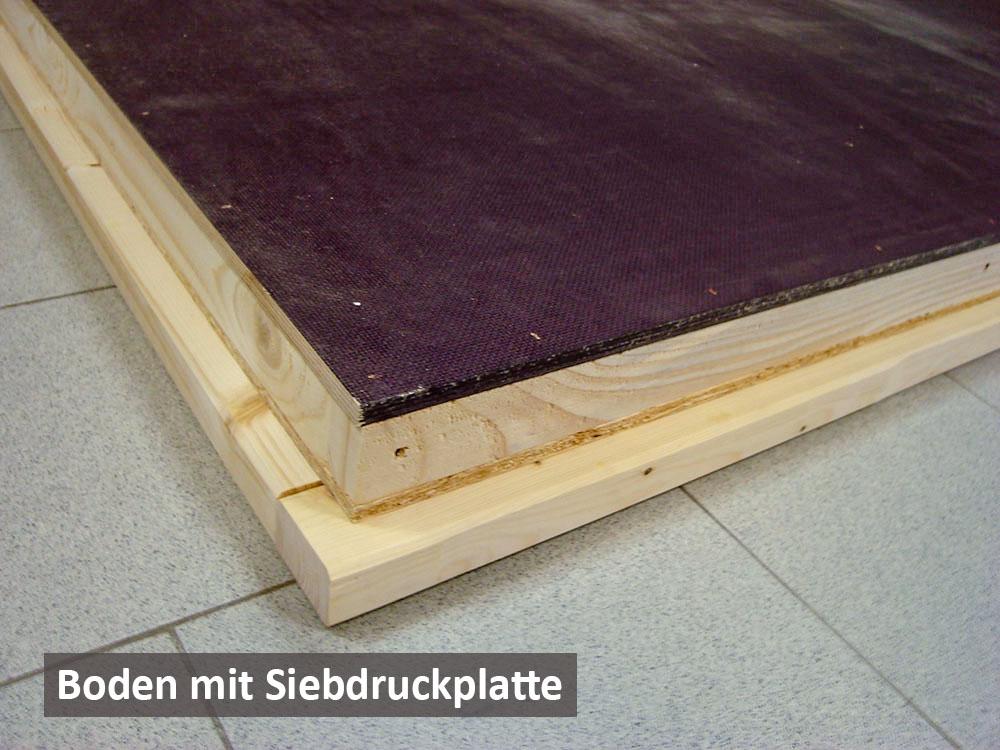 Boden Siebdruckplatte