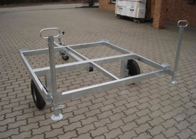Unterbau Fahrzeuganhänger